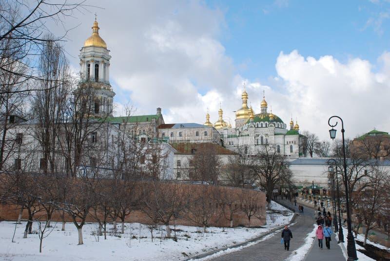 lavra του Κίεβου pechersk εκκλησία ορθόδοξη στοκ εικόνες με δικαίωμα ελεύθερης χρήσης