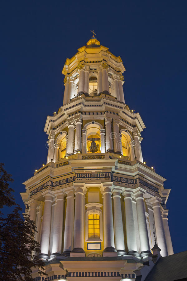 Lavra bell tower stock photos