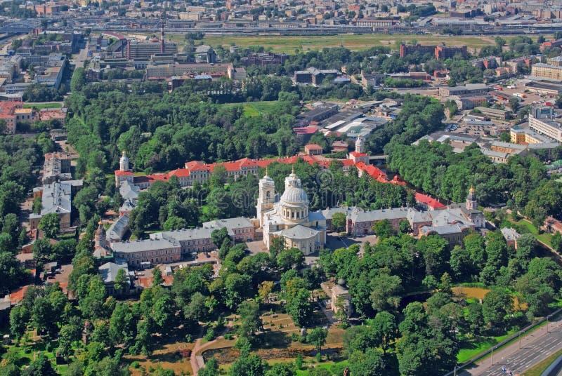 Lavra de Alexander Nevsky fotos de stock