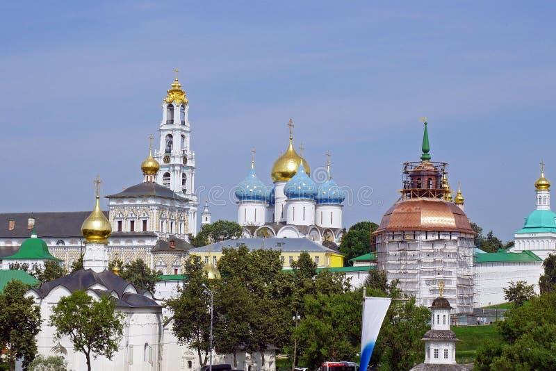 lavra posad Russia sergiev sergius trinity zdjęcia stock