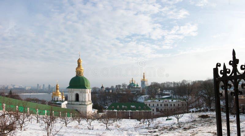 Download Lavra at winter stock image. Image of pilgrimage, spirituality - 17626719