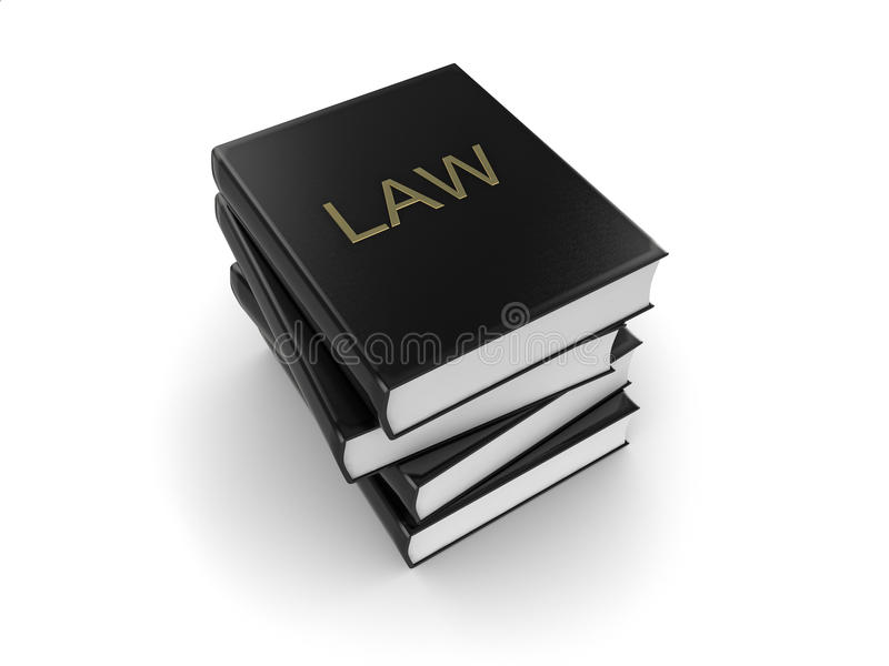 Download Law books stock illustration. Illustration of book, leather - 12587466