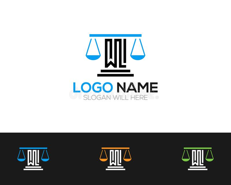 Law Company Logo Template online store vectors illustration. This is very easy to use. U ca Use as your won simply vector illustration