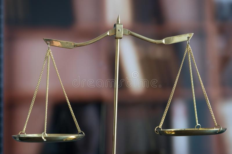 Law concept Judge gavel and legal book justice Lawyer workplace. Concept royalty free stock photo