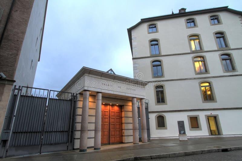 Download Law Court In Geneva, Switzerland Stock Image - Image: 37674081