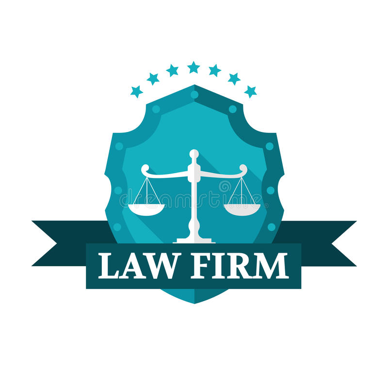 Law Firm logo. Vector illustration vector illustration