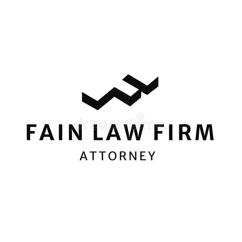 Law Firm Office Attorney Logo. This logo can be used for any attorney or law firm vector illustration