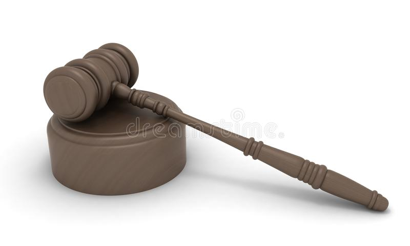 Law Gavel Stock Images