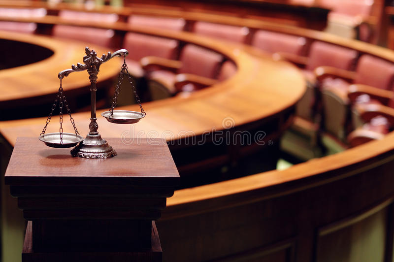Law and Justice royalty free stock photo
