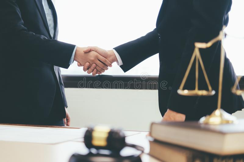 Law and Legal services concept. stock images