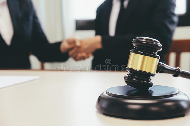 Law and Legal services concept. royalty free stock photography