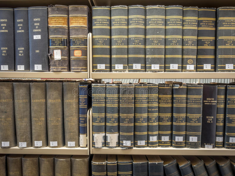 Law Library stacks royalty free stock images