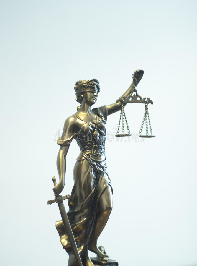 Law office legal statue Themis royalty free stock photos