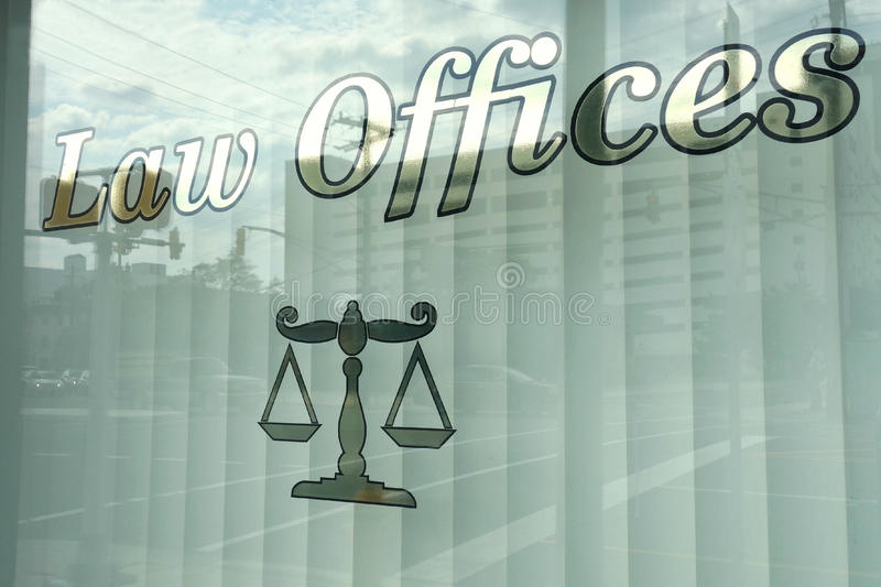 Law Offices royalty free illustration