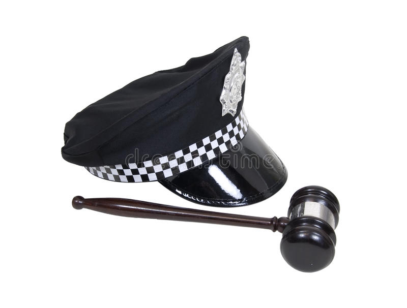Law and order royalty free stock image