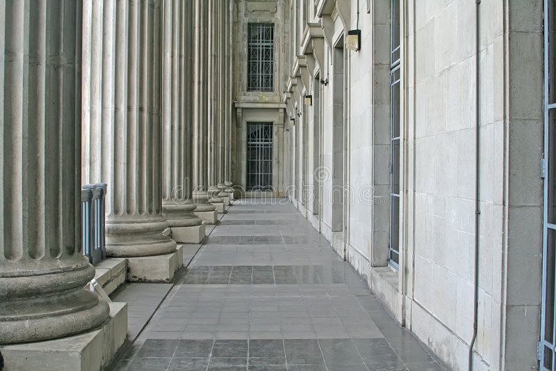 Download Law And Order Pillars In The Supreme Court Stock Image - Image: 5013005