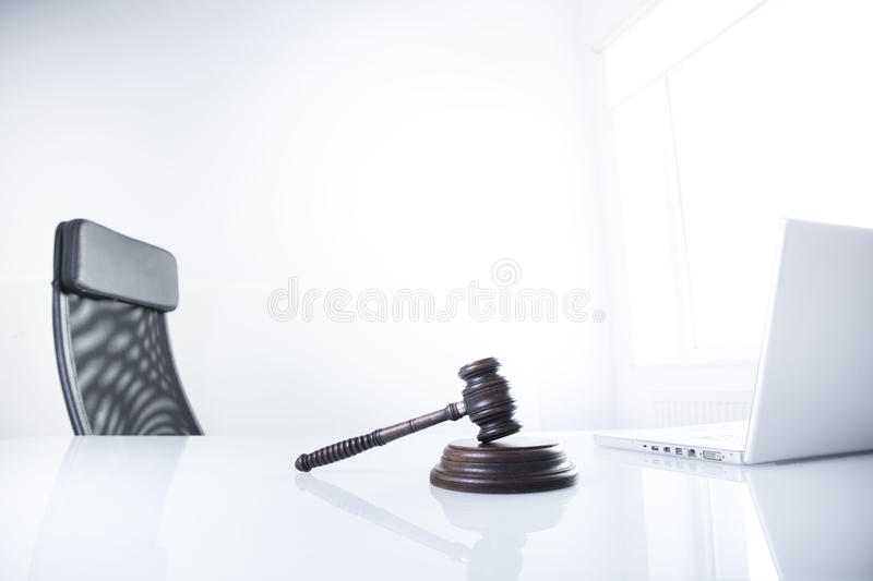 Law theme and concept. Lawyer, counselor office. Consultation with a lawyer concept royalty free stock image