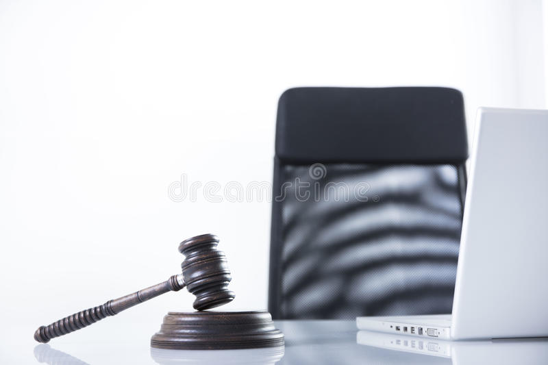 Law theme and concept. Lawyer, counselor office. Consultation with a lawyer concept stock photos