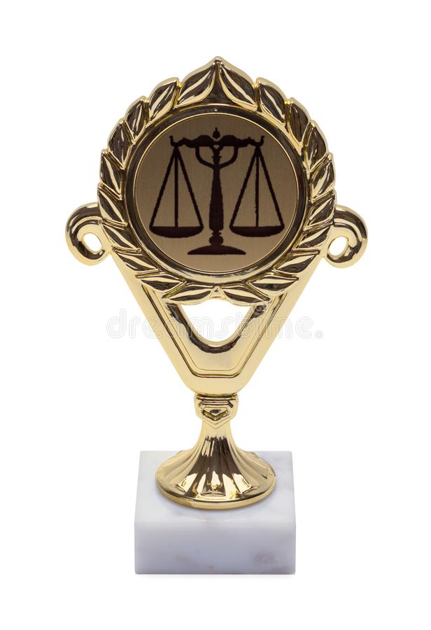 Law Trophy royalty free stock photos
