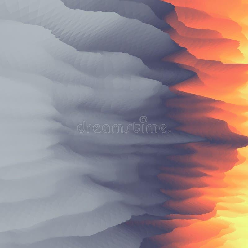 lawa abstrakcyjny tło Nowożytny wzór projekta świeża ilustracyjna naturalna wektoru woda twój ilustracji