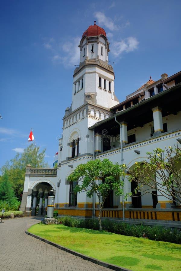 Lawang Sewu budynku wierza Semarang zdjęcia royalty free