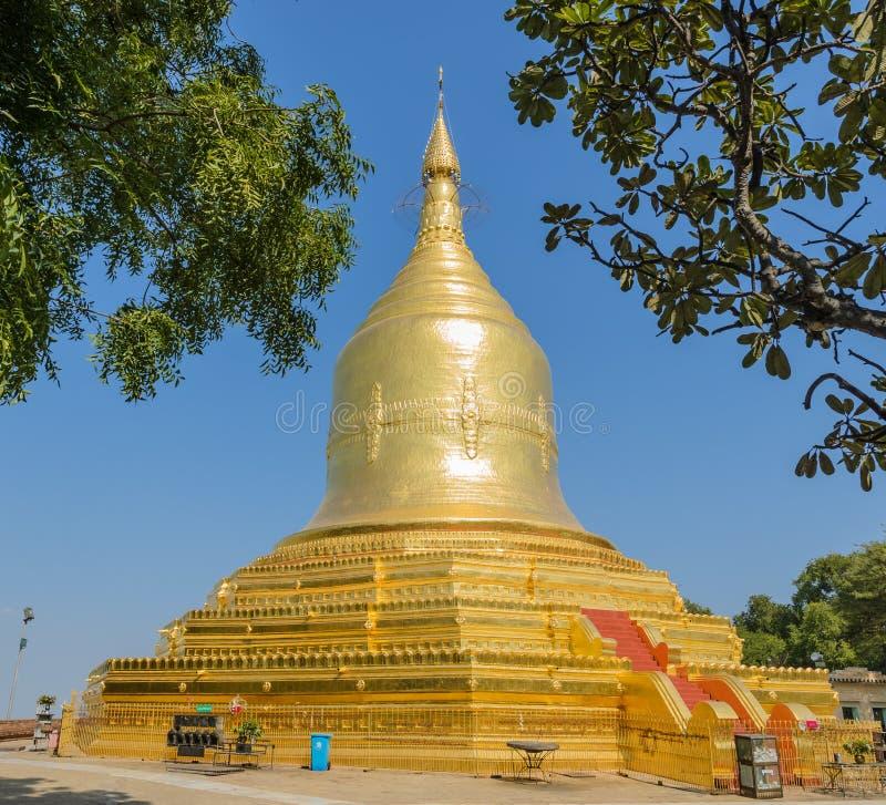 Lawkananda-Pagode, Myanmar lizenzfreies stockbild