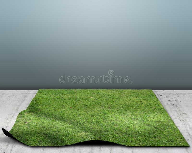 Download Lawn stock illustration. Image of abstract, back, solid - 22345152