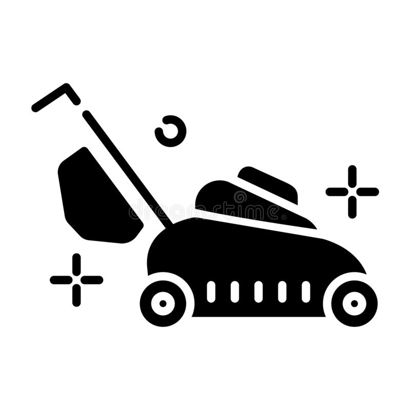 Lawn Care Vector royalty free illustration