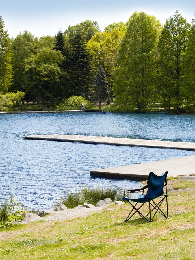 Download Lawn Chair stock image. Image of nature, forest, coast - 2455363
