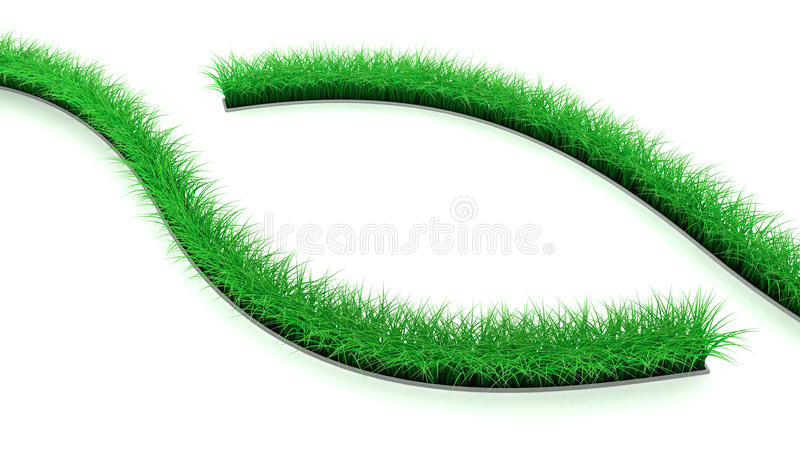 Lawn Lines royalty free illustration