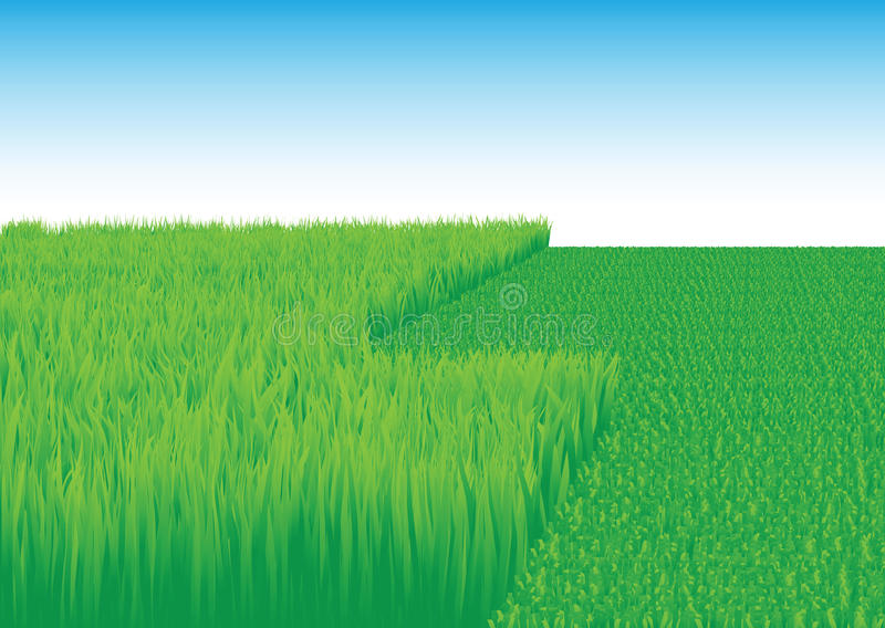 Lawn_mower royalty free illustration
