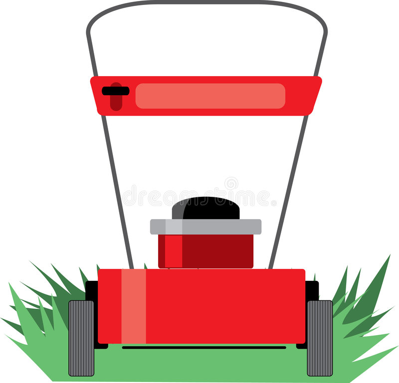 Download Lawn Mower stock vector. Illustration of care, mower, lawnmower - 2707910