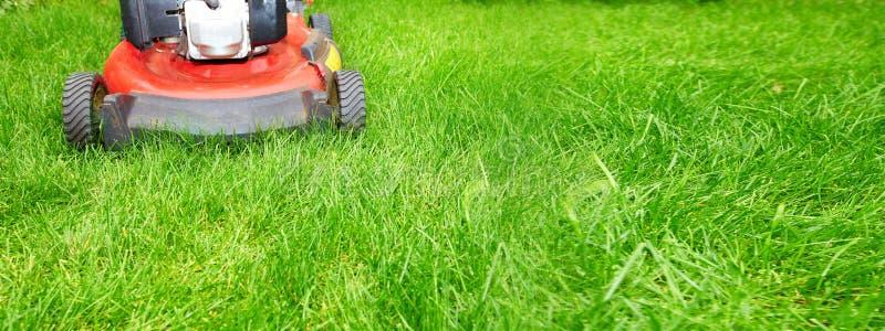 Lawn mower stock photos