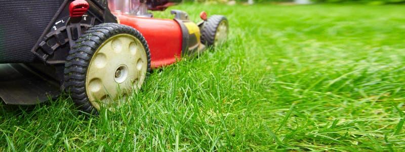 Lawn mower royalty free stock photos