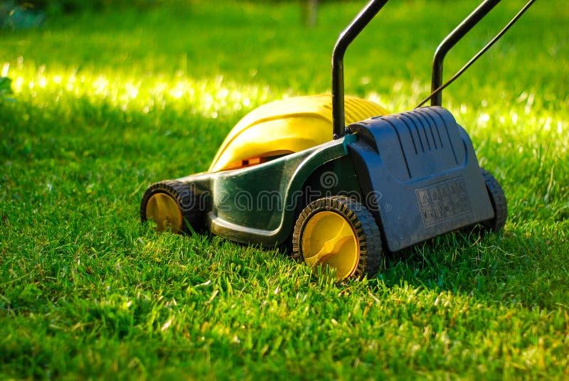 Lawn mower royalty free stock photo