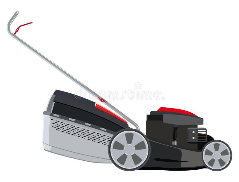 Lawn mower royalty free illustration