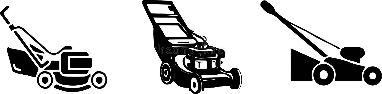 Lawn mower icon on white background. Lawn,machine,mower vector illustration