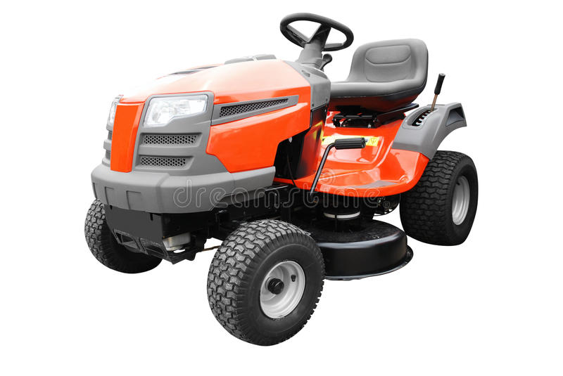 Download Lawn Mower Isolated On White Stock Photo - Image: 14772698