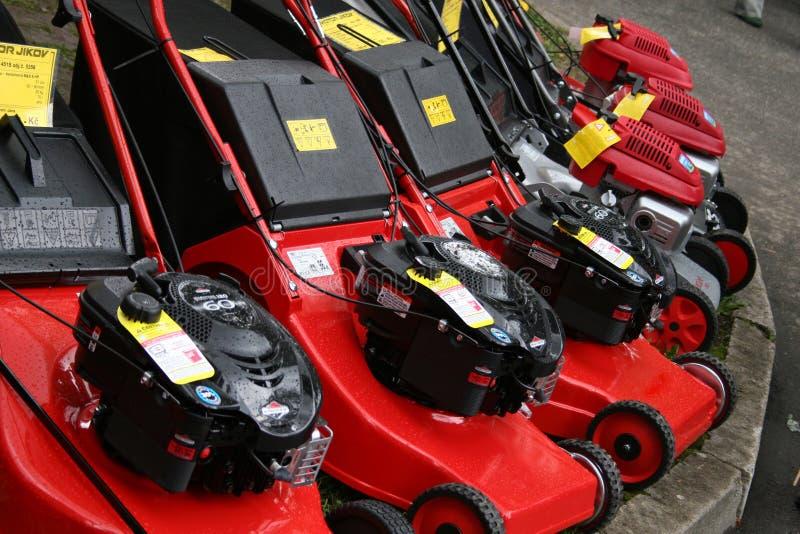 Download Lawn-mowers stock photo. Image of lawnmowers, work, gardener - 1151078