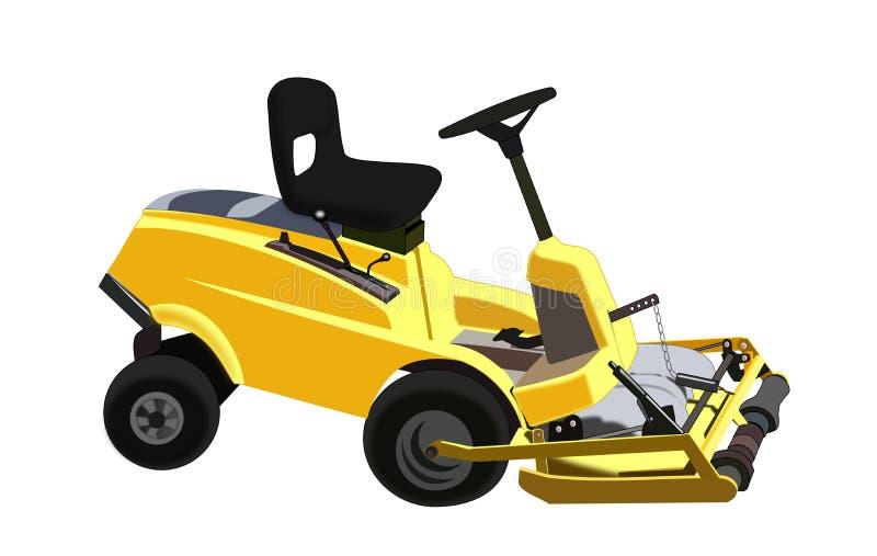 Lawnmower ilustração stock