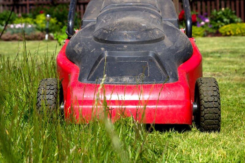lawnmower fotografia stock