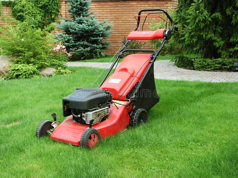 Lawnmower stock photography