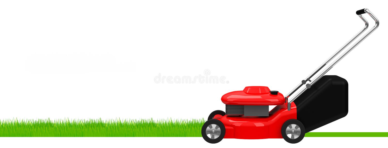 Lawnmowing royalty illustrazione gratis
