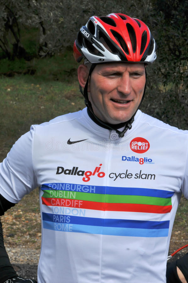 Download Lawrence Dallaglio Cycle Slam Editorial Image - Image: 13167490