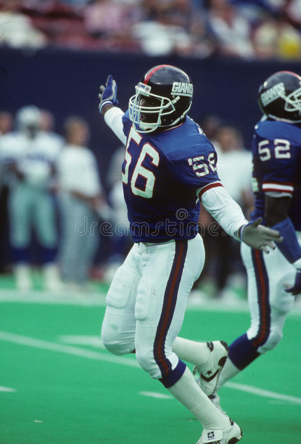 Lawrence Taylor royalty-vrije stock afbeelding
