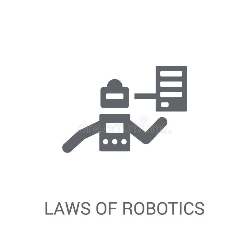 Laws of robotics icon. Trendy Laws of robotics logo concept on w stock illustration
