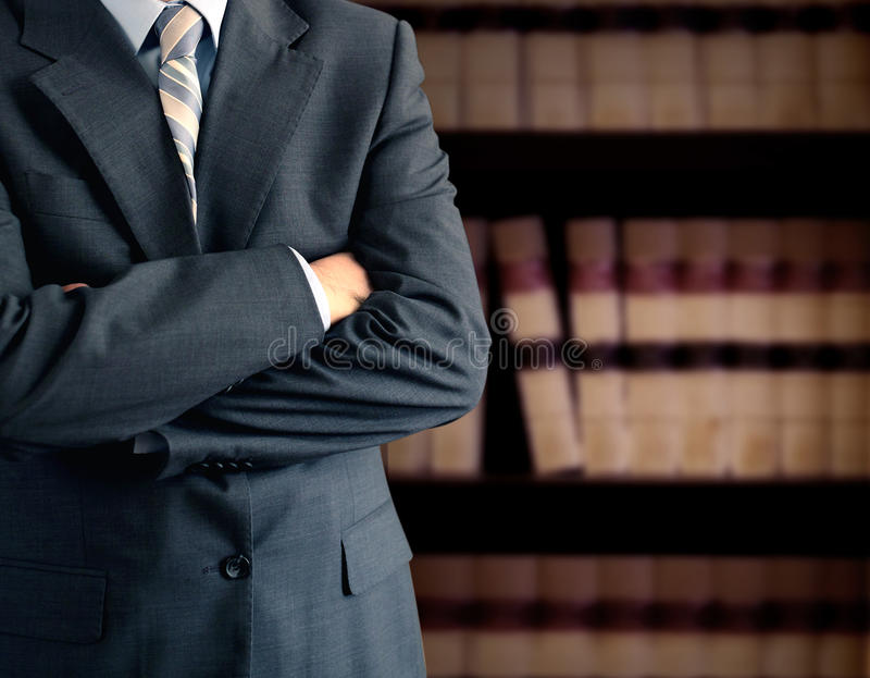 Lawyer royalty free stock photography
