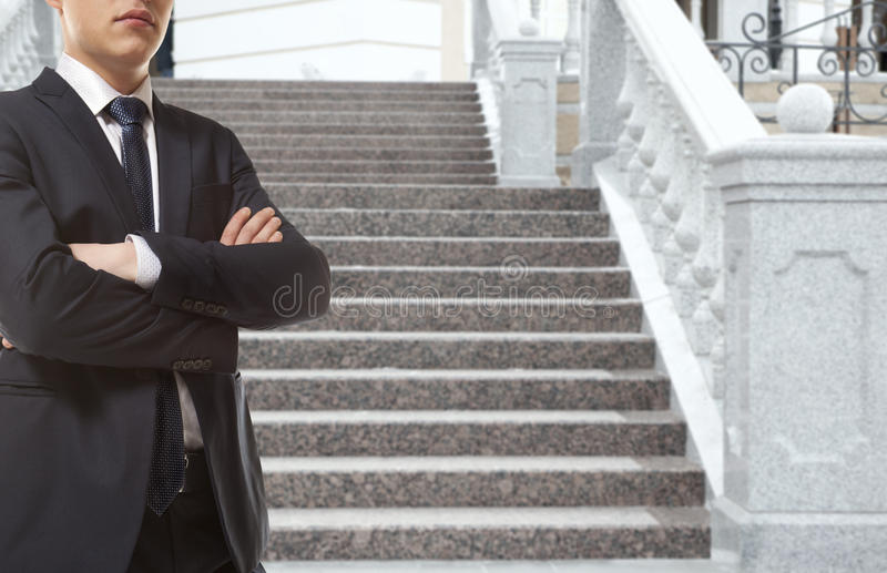 The lawyer stock image