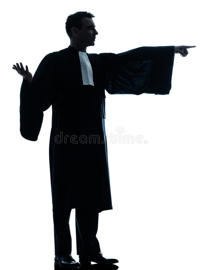Download Lawyer Man Pleading Royalty Free Stock Image - Image: 25445486