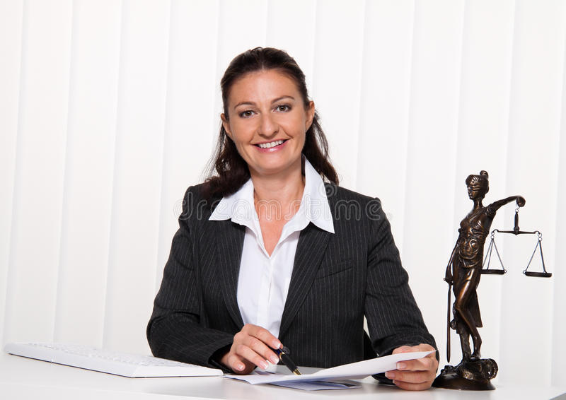 Download Lawyer in the office. stock image. Image of office, lifestyle - 15720003